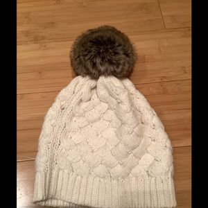 JCrew Cream Winter Hat
